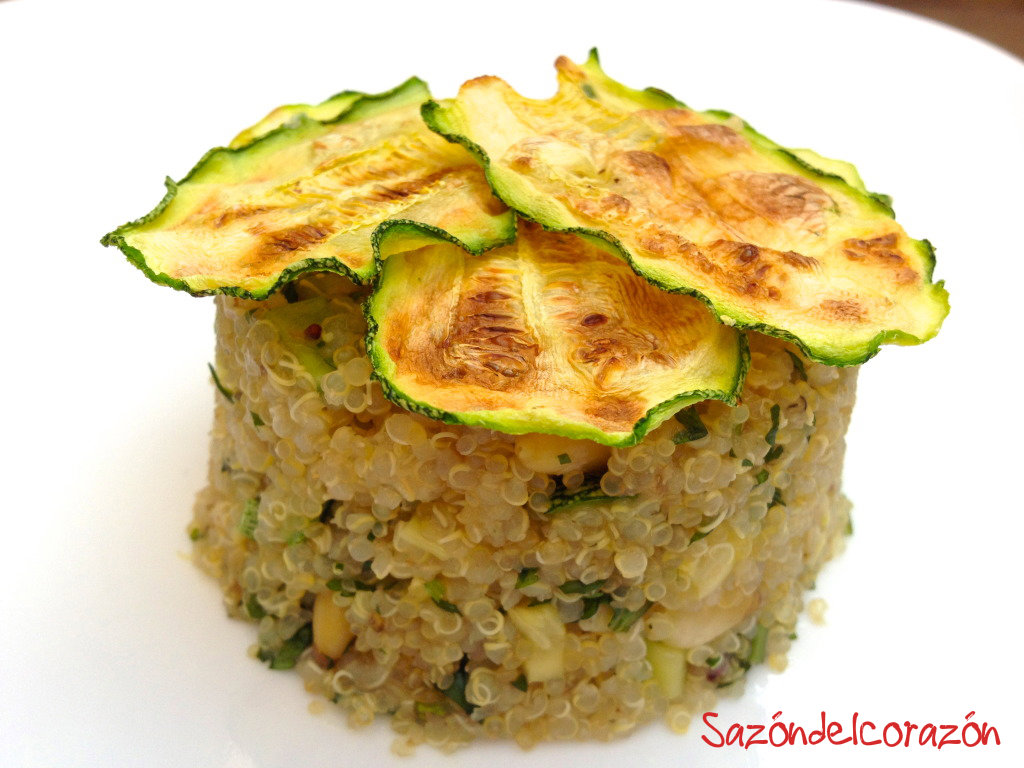 Quinoa con calabaza saz n del coraz n - Cocinar quinoa con verduras ...