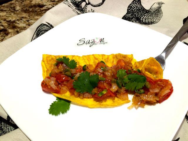 tortilla de huevo a la mexicana