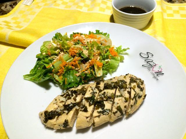 Pollo estilo thai