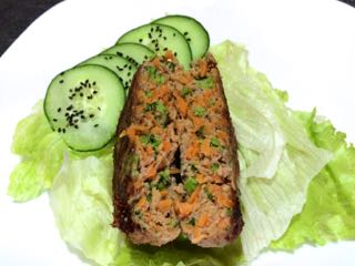 Hamburguesa con zanahoria