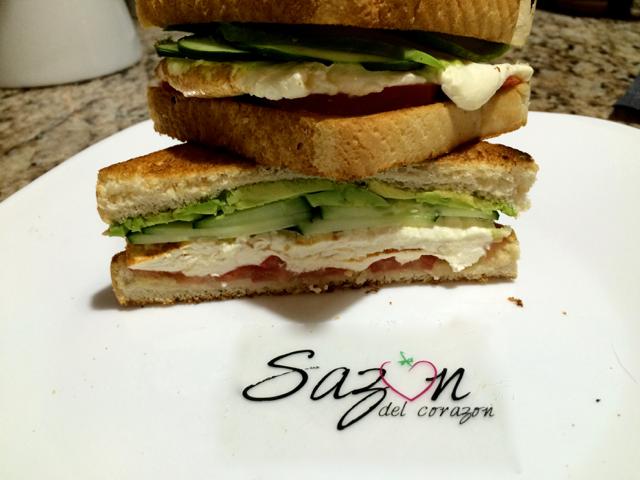 Sandwich queso